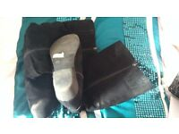 New Look wide fit boots size 4 black