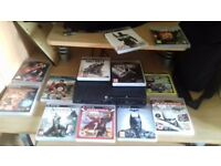PS3 - 12 games 2 controller all cables