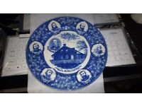 Plate, General Lee. His staff and headquarters, Battle of Gettysburg July 1-3 1863