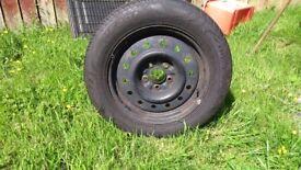 Used Wheel & Tyre 205/60R16
