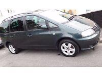 Seat Alhambra Auto diesel 1.9 economical family car