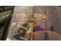 270 l 50kg stowaway roof bag new