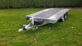 NEW Car Transporter Trailer Recovery Flat bed 2700kg GVW 4.0 m long £2400 inc VAT