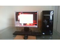 PC FOR SALE WITH MONITOR COMPLETE SET UP