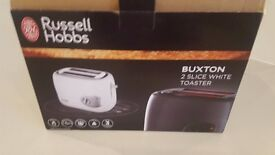 Brand New in box Russell Hobbs white TOASTER