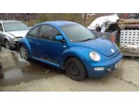 1997-2010 VW BEETLE 1600cc 102 BHP BREAKING FOR SPARES PARTS