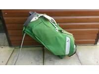 Green Puma Golf Bag