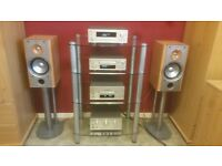 teac reference 500 system speakers remote and manuals