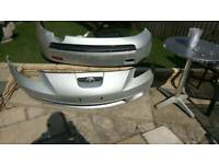 Toyota celica vvti front and rear bumper, used for sale  Poole, Dorset