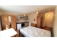 Everything brand new studio flat 1 minute walk away from park tube shops inclusive of bills