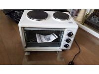 Table top oven and hob excellent condition used once
