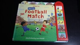Usborne Noisy Football Match book