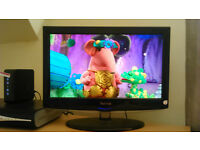 18.5 inch flat screen color TV on Sale for 25 Pounds on urgent basis