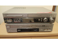 2 Video/DVD players for Spares or Repairs, as no remotes £15 the two !