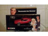 Corgi james bond the definitive bond collection diamonds are forever ford mustang mach I