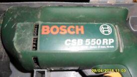 BOSCH CSB 550 RP DRILL