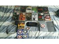 Sony psp with big bundle