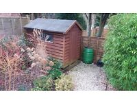 Garden shed free to collector **provisionally taken**