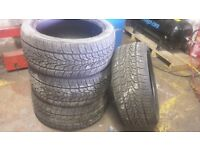 4 x 275 40 20 tyres.more than 8mm tread lon all.NEXEN RODIAN HP make.106V XL