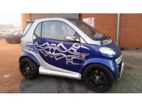 CUSTOMIZED SMART PASSION AUTO LOW MILES IMMACULATE (LEFT HAND DRIVE) MOT FEB 2018