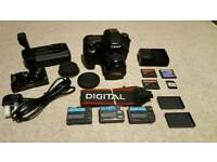 Canon EOS 40D DSLR Camera Kit with very low shutter count
