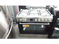 New graded bush range cooker 90cm duel fuel for sale in Coventry 12 month warrenty