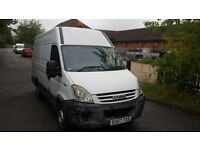 IVECO DAILY 35S12 MWB 2.3HPI 3300T HIGH ROOF. MOT 29/NOV/2016. PANEL VAN WITH 5 DOORS IN WHITE.