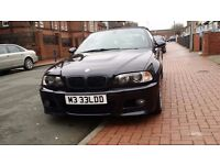 54 REG BMW M3 CONVERTIBLE SMG2 FULLY LOADED FULL BMW SERVICE HISTORY PRIVATE PLATE INC