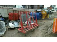 Plaster board/plywood trolley