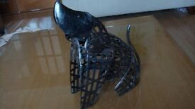NEXT METAL ORNAMENTAL DOG WITH SPRING HEAD WOBBLE