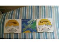 Satnav Navigation cd for e class mercedes for uk and europe