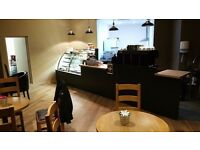 Cafe barista and Cafe assistant required for busy coffee shop