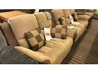 Designer sofas leather recliner fabric 3+2