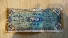 German Reich Banknote 1944