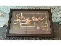 wwe plaque money in the bank with ring