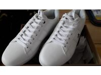 White sneakers size 9 never worn