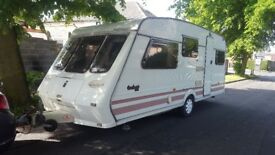 Fletwood 5 berh 1997y with awning redy to go