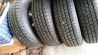 4 winter king studded tires