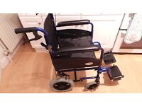 Folding Wheelchair 9 months old good condition