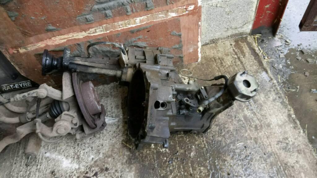 Vw T4 gear box