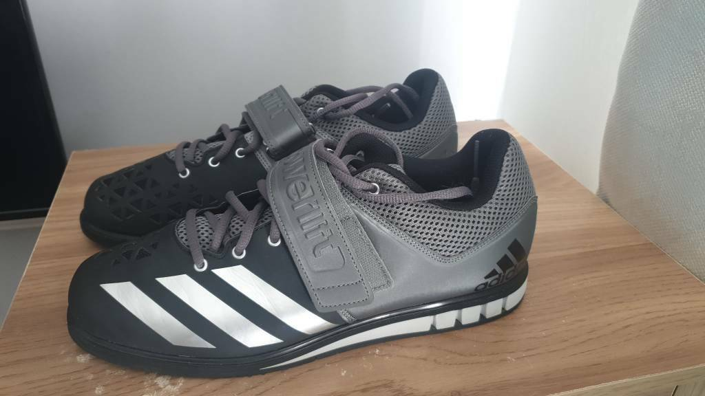 7399b1f83 Mens size 10 Adidas powerlifting squat shoes  Good condition