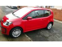 BRAND NEW VW UP MOVE UP MODEL REGISTERED 1ST SEPTEMBER 2017