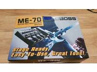 Boss ME-70 multi effects guitar processor