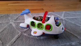 Fisher Price Little People Lil Movers Airplane (Aeroplane)