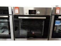 Brand New Bosch HBA13B150B Single Electric Oven, Brushed Stainless Steel