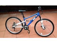 """Kids Mountain Bike - 17"""" frame (ideal for 10-13 year old kids)"""