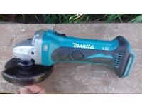 Professional 18v Makita LXT BGA252z Battery Grinder Body Only! FULLY WORKING!