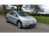 HONDA CIVIC SE CTDI 06 PLATE 2006 3F/KEEPER 107000 MILES SERVICE HISTORY DIESEL 6 SPEED AC ALLOYS
