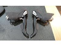 Shimano 105 5700 2x10 STI levers/shifters
