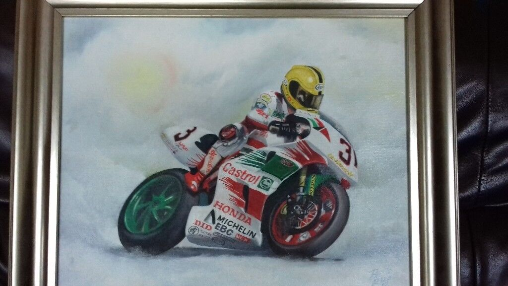 Joey Dunlop Painting